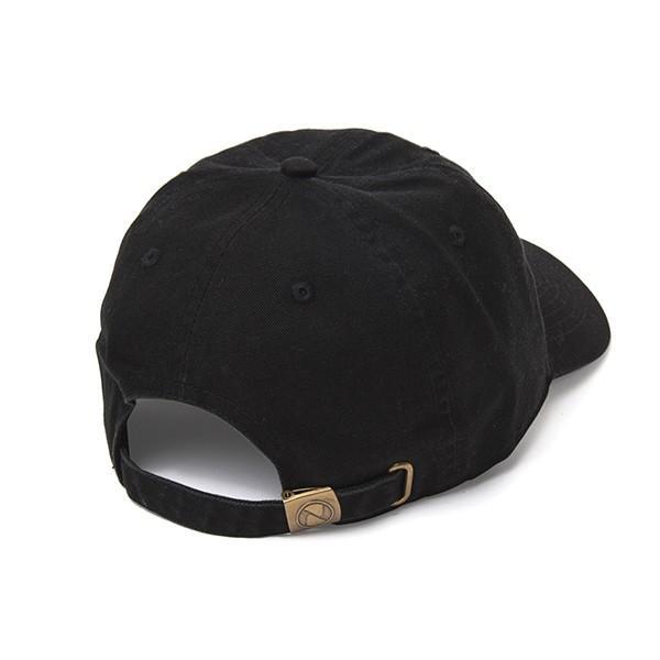 NEWHATTAN(ニューハッタン):ウォッシュドベースボール キャップ/ブラック/メンズ&レディース/ファッション 帽子|boushikaban|02
