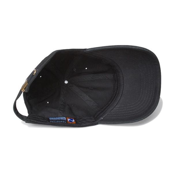 NEWHATTAN(ニューハッタン):ウォッシュドベースボール キャップ/ブラック/メンズ&レディース/ファッション 帽子|boushikaban|03