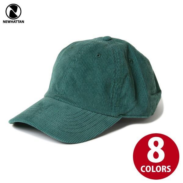 NEWHATTAN(ニューハッタン):コーデュロイ ベースボール キャップ/メンズ&レディース/ファッション 帽子|boushikaban