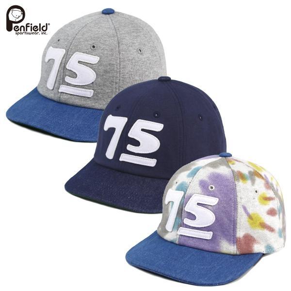 Penfield(ペンフィールド):ベースボールキャップ デニム/メンズ&レディース/ファッション 帽子|boushikaban