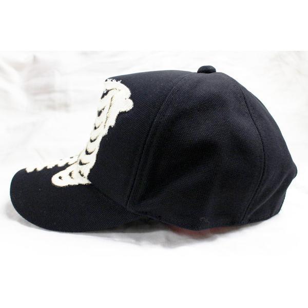 VANSON(バンソン):キャンバス ボーン キャップ/メンズ&レディース/ファッション 帽子|boushikaban|05