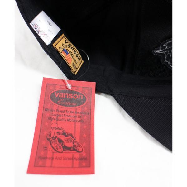VANSON(バンソン):キャンバス ボーン キャップ/メンズ&レディース/ファッション 帽子|boushikaban|08