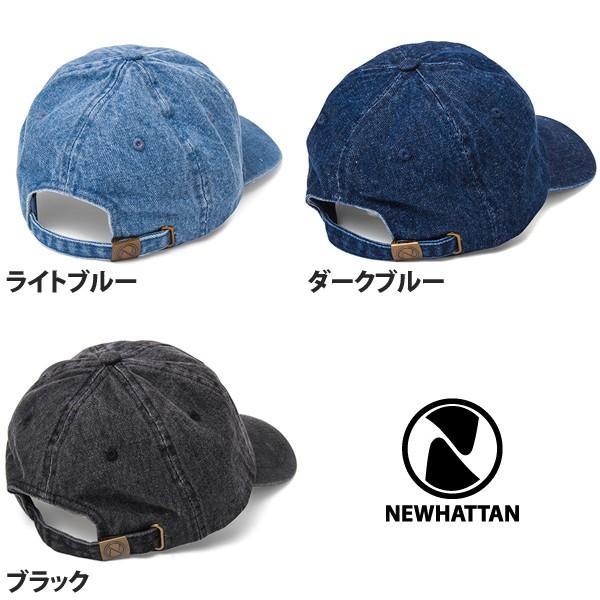 NEWHATTAN(ニューハッタン):ウォッシュド デニム キャップ/メンズ&レディース/ファッション 帽子|boushikaban|05