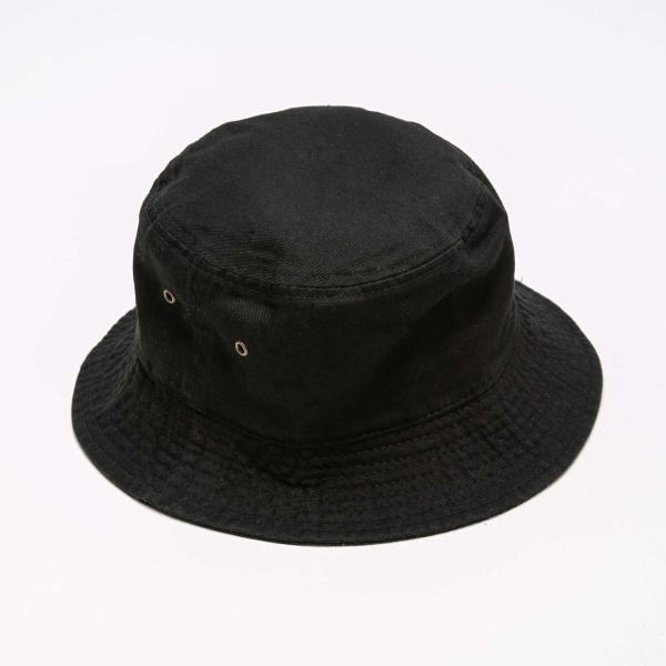 NEWHATTAN(ニューハッタン):バケットハット/ブラック/メンズ&レディース/ファッション 帽子|boushikaban|02