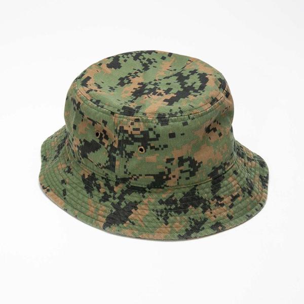 NEWHATTAN(ニューハッタン):バケットハット/カモフラージュ/メンズ&レディース/ファッション 帽子|boushikaban|04