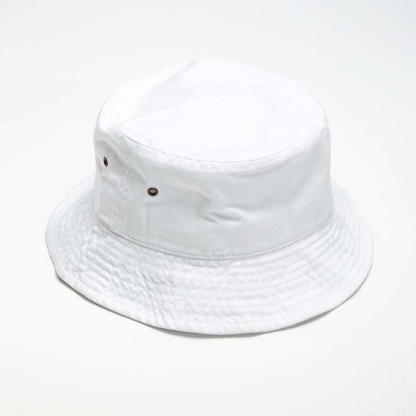 NEWHATTAN(ニューハッタン):バケットハット/ホワイト/メンズ&レディース/ファッション 帽子 boushikaban 02