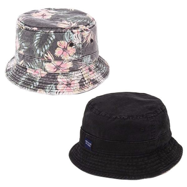 NEWHATTAN(ニューハッタン):リバーシブル バケットハット/メンズ&レディース/ファッション 帽子|boushikaban|02