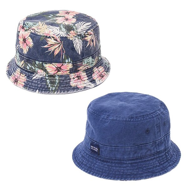 NEWHATTAN(ニューハッタン):リバーシブル バケットハット/メンズ&レディース/ファッション 帽子|boushikaban|03