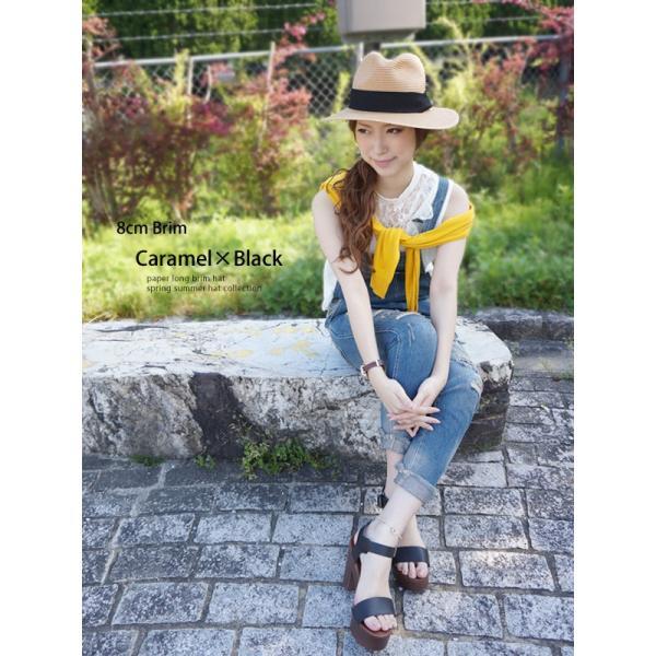 麦わら帽子 レディース メンズ つば広 UV ストローハット 大きいサイズ 帽子|bousidreamwalk|13