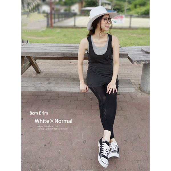 麦わら帽子 レディース メンズ つば広 UV ストローハット 大きいサイズ 帽子|bousidreamwalk|15