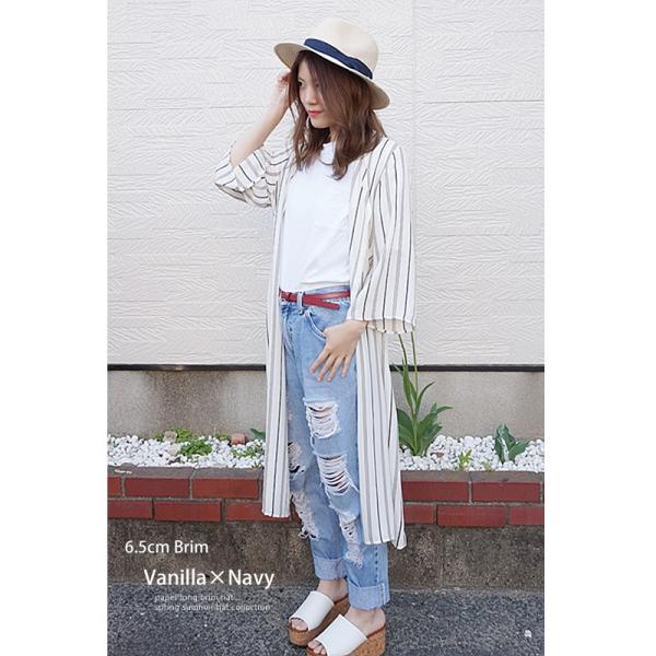 麦わら帽子 レディース メンズ つば広 UV ストローハット 大きいサイズ 帽子|bousidreamwalk|17