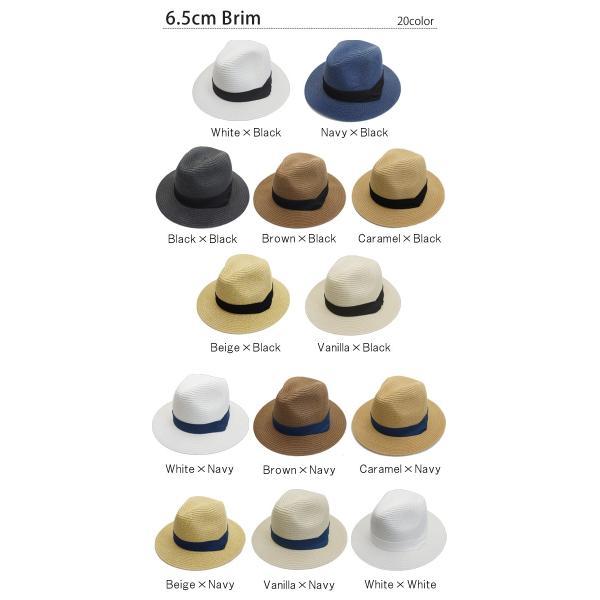 麦わら帽子 レディース メンズ つば広 UV ストローハット 大きいサイズ 帽子|bousidreamwalk|04