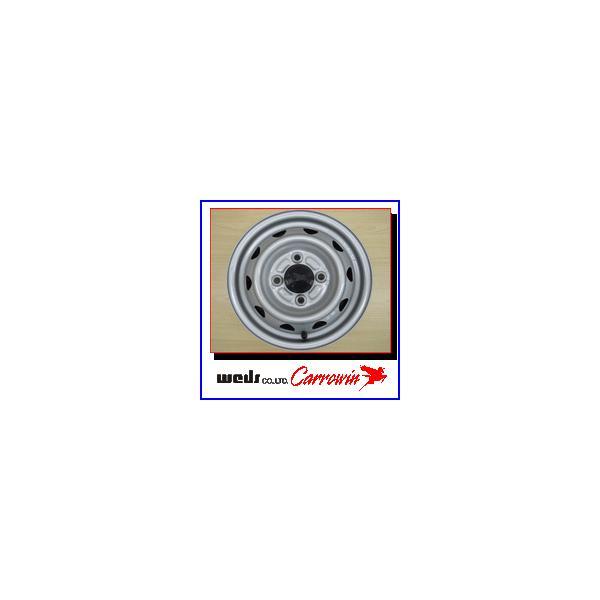 2017年製造 ブリヂストン W300 145R12 6PR + 単穴ホイール4本セット|bowers|03