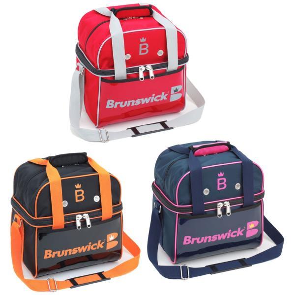 Brunswick Bisou(ビズ) Sコンパクト ブランズウィック ボウリング バッグ シングル 1個入 ボウリング用品 ボーリング グッズ