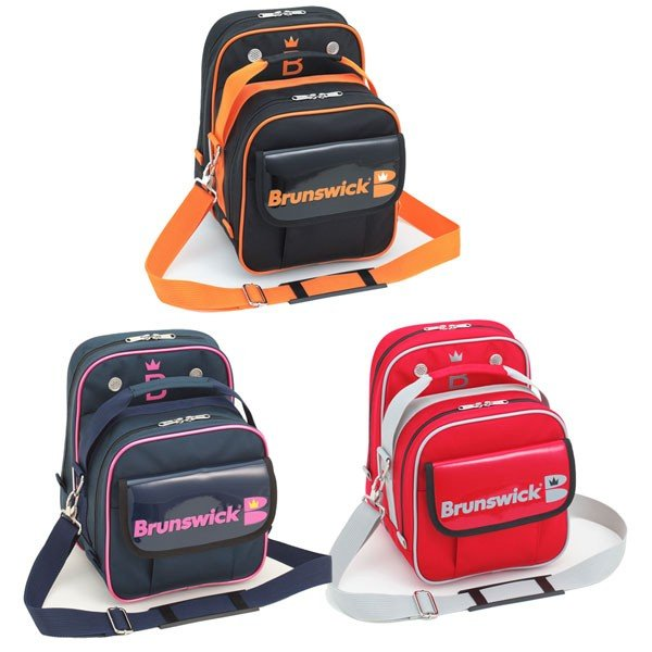 Brunswick Bisou(ビズ) S ブランズウィック ボウリング バッグ シングル 1個入 ボウリング用品 ボーリング グッズ