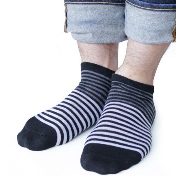 靴下 メンズ くるぶし ショート ソックス モノトーン調 9足セット / 送料無料|box408|05