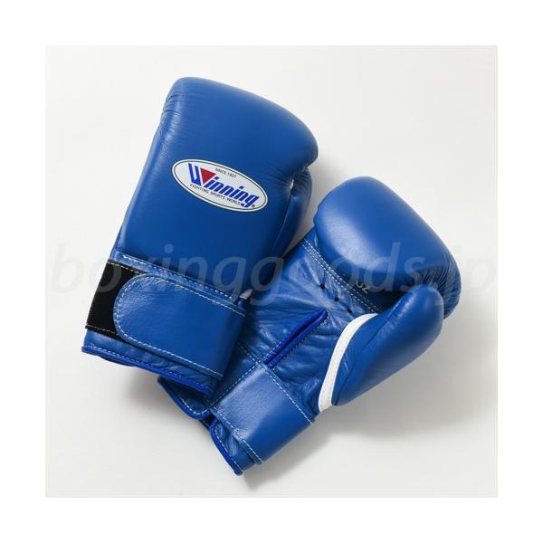 【Winning/ウイニング】 プロフェッショナルタイプ8オンス マジックテープ式 ブルー