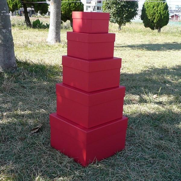 マトリョーシカBOXセット レッド リボン無し|boxstore-net