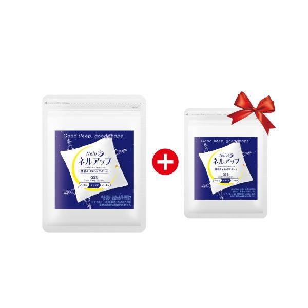 1袋ご購入でもう1袋プレゼント ダイエット ポイント消化 送料無料 ネルアップ 20粒 GABA ギャバ 睡眠 サプリ ダイエットサプリ 黒生姜 カルニチン|bp-direct