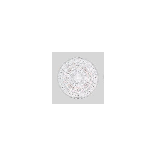 岡本製図器械  全円分度器15cm BO-15 (39-2015)  4518679320153
