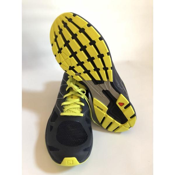 トレイル ランニング シューズ メンズ サロモン SALOMON 靴 スポーツ SONICPRO2 ソニックプロ2 26.5cm brace-revo 02