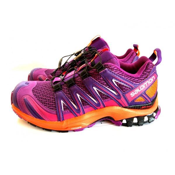 レディース 登山 トレッキング 靴 アウトドア パープル サロモン SALOMON XA PRO 3D 22.5cm 24.0cm|brace-revo|03