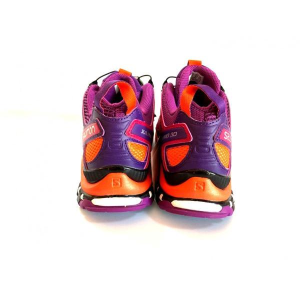 レディース 登山 トレッキング 靴 アウトドア パープル サロモン SALOMON XA PRO 3D 22.5cm 24.0cm|brace-revo|04