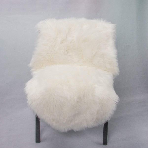 HLZDHKJ フェイクシープスキンラグ ムートンマット 洗える 人工ウールマット 長毛 ふんわり 柔らか滑り止め付き高級感あるソファシート