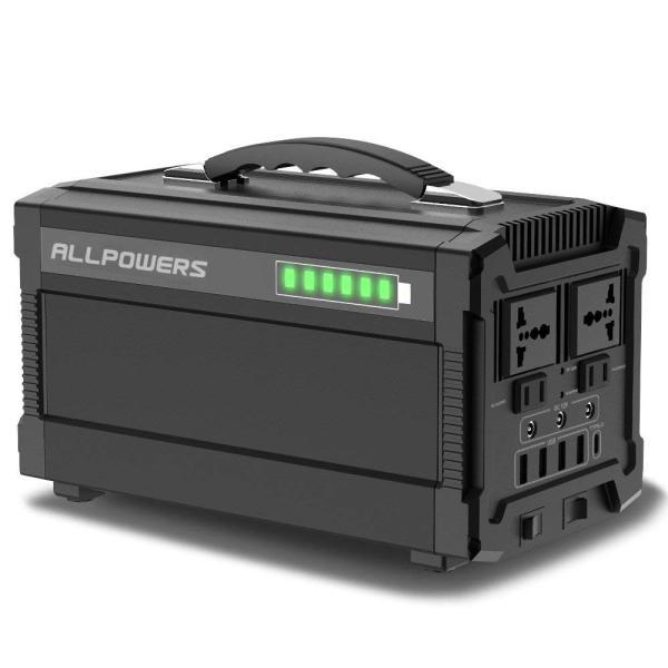 ALLPOWERS ポータブル電源 288Wh 78000mAh 家庭用蓄電池 小型発電機 USB AC DC 出力対応 正弦波 携帯便利|braggart4|02