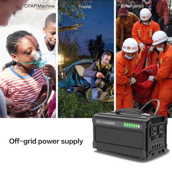 ALLPOWERS ポータブル電源 288Wh 78000mAh 家庭用蓄電池 小型発電機 USB AC DC 出力対応 正弦波 携帯便利|braggart4|09