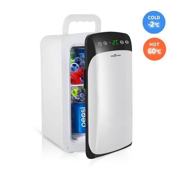 Rockpals 小型冷蔵庫 ミニ冷蔵庫 冷温庫 保冷ボックス 温度表示 2システム 保温・保冷両用 ミニ冷凍庫 家庭 車載 保冷温庫 自動|braggart4|07