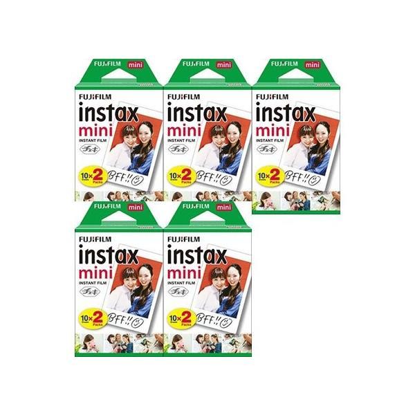 NEWフジチェキフイルム instax mini インスタックスミニ 2P×5 計100枚セット