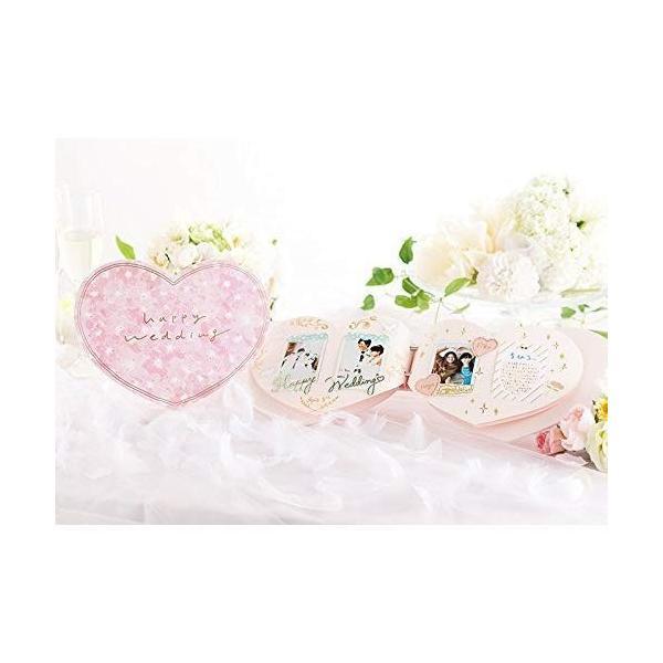 きむ ハートアルバム for チェキ Wedding(PK) KAH-01