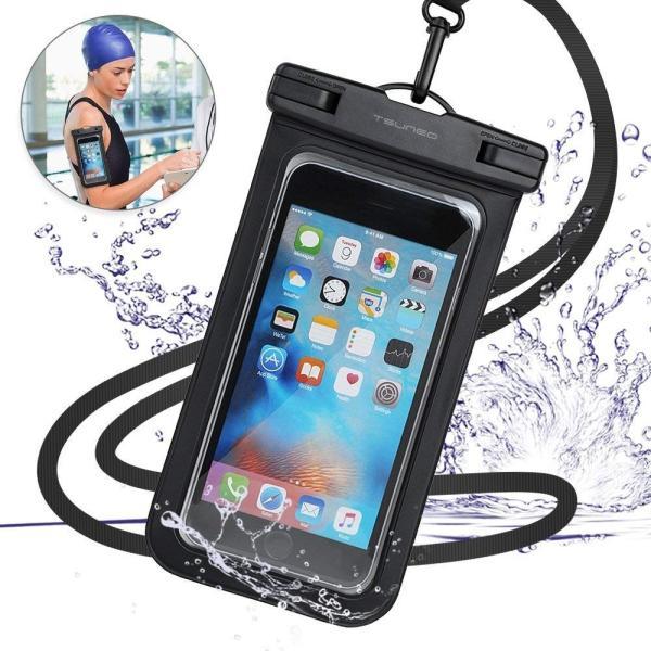 強化版 防水ケース スマホ用 IPX8認定 指紋認証防水携帯ケース タッチ可 水中撮影 海水浴 水泳など適用|braggart4|05