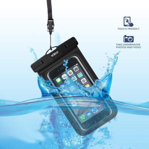 防水ケース スマホ携?用 IPX8認定 指紋認証 iPhone X/8/7/6対応 iPhone/Android 6インチ以下全機種対応 お braggart4 06