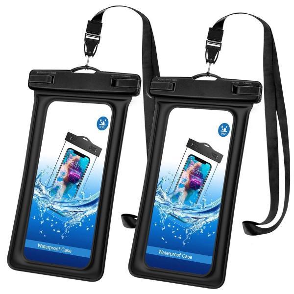 防水ケース - ATiC 6.8インチ以下スマホ用首掛け式ダイビングバッグ ストラップ付き IPx8防水レベル iPhone Xs/iPho|braggart4|03