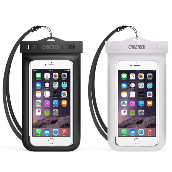 スマホ 防水ケース 2点セットCHOETECH IPX8 防水袋 iphone 7,7 Plus,6S,6S Plus,google pix|braggart4|02