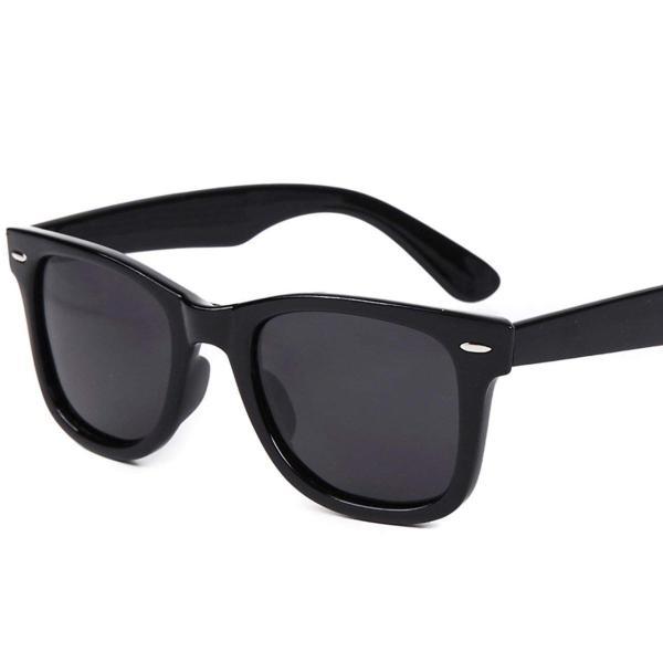 (フェリー) FERRY 偏光レンズ ウェリントン サングラス ポーチ&クロス セット ユニセックス ブラック braggart4 05