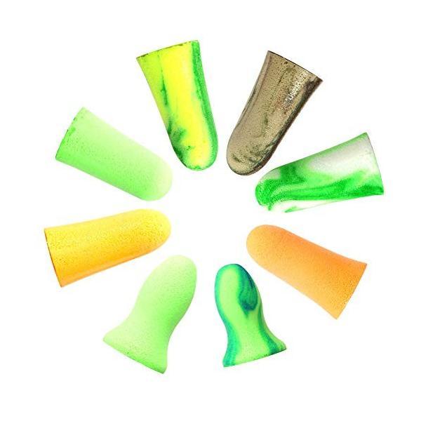 MOLDEX 使い捨て耳栓 コード無し お試し8種エコパック ケース付 (Camoplugs Sparkplugs Goin'green M|braggart4