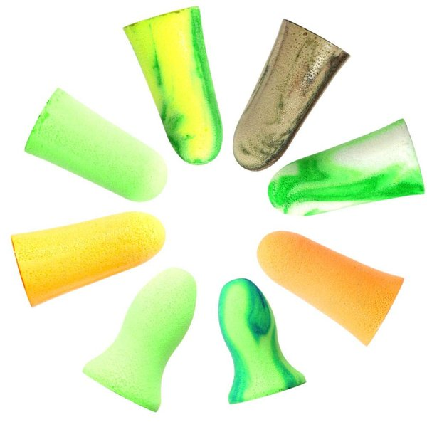 MOLDEX 使い捨て耳栓 コード無し お試し8種エコパック ケース付 (Camoplugs Sparkplugs Goin'green M|braggart4|02