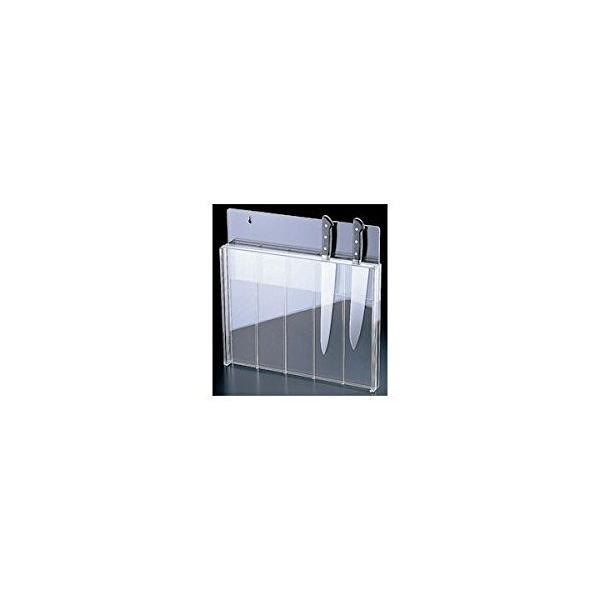 信越 Sinetu 庖丁スタンド 釘打式 店内全品対象 アクリル樹脂 日本 透明色 日本正規代理店品 AHU7301