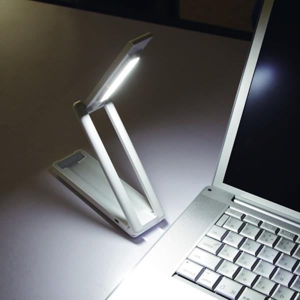 アイリスオーヤマ 乾電池式LEDデスクライト LSM-55|braggart4|02