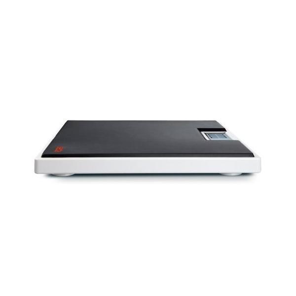 最大計量 ブランド買うならブランドオフ 150kg デジタルフラットスケール 春の新作シューズ満載 seca ブラック 803