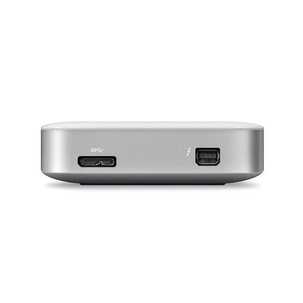 ポータブルHDD デュアルインターフェイスポータブルハードドライブ 1TBサンダーボルト 送料無料でお届けします USB アウトレット☆送料無料 3.0 サンダーボルトケーブル付属 並行