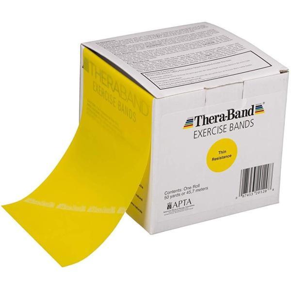 THERABAND セラバンド 合計45.7m 50ヤード イエロー 徳用サイズ 強度:-1 セール セール特別価格 特集