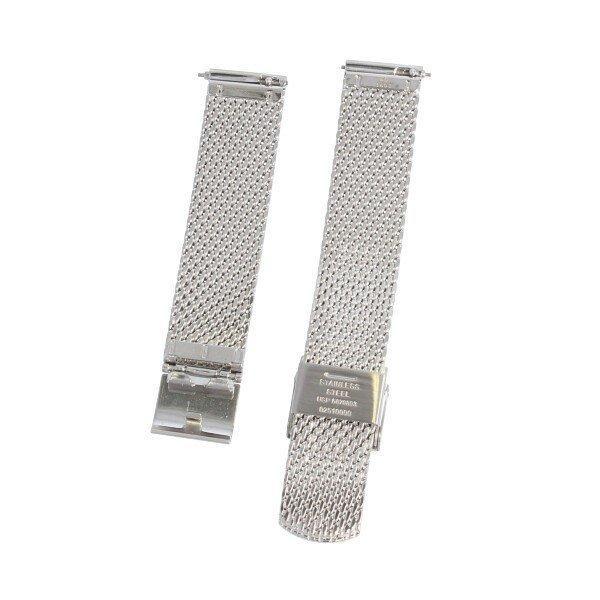 SKAGEN スカーゲン バンド ベルト メッシュ ダブルロック 交換 SKW2446 SKW2447 ハルド ソーラー 純正 バネ棒付き シルバー ローズゴールド 腕時計 修理|brain-products|05