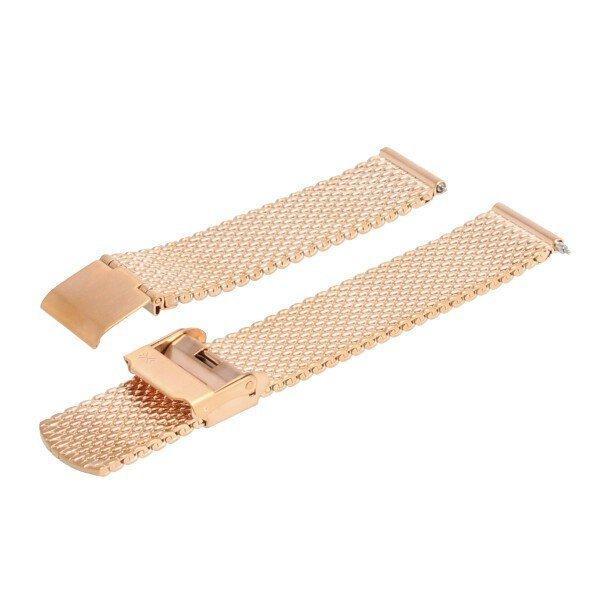 SKAGEN スカーゲン バンド ベルト メッシュ ダブルロック 交換 SKW2446 SKW2447 ハルド ソーラー 純正 バネ棒付き シルバー ローズゴールド 腕時計 修理|brain-products|08