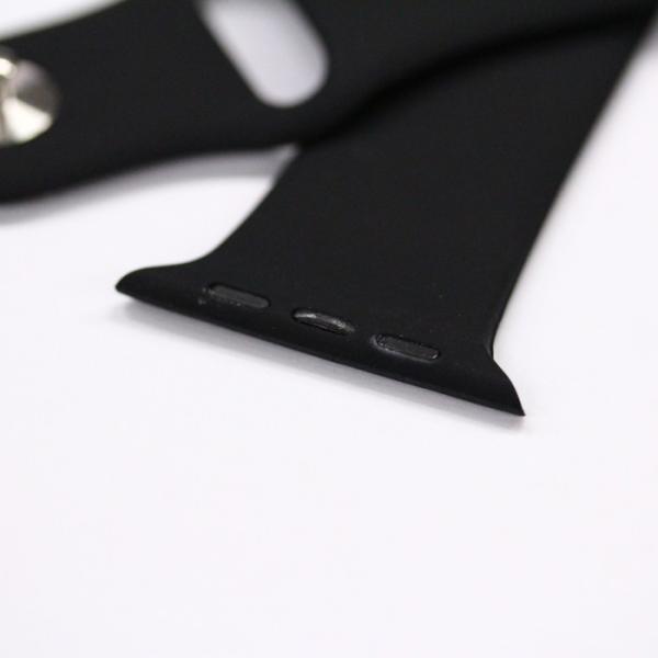 アップルウォッチ Apple watch シリーズ 1 2 3 4 38mm 40mm 42mm 44mm バンド シリコン スポーツバンド 腕時計 汎用モデル|brain-products|03