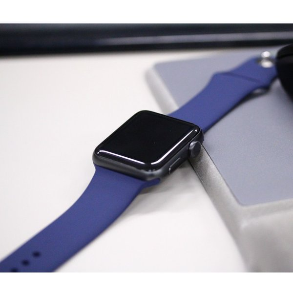 アップルウォッチ Apple watch シリーズ 1 2 3 4 38mm 40mm 42mm 44mm バンド シリコン スポーツバンド 腕時計 汎用モデル|brain-products|07