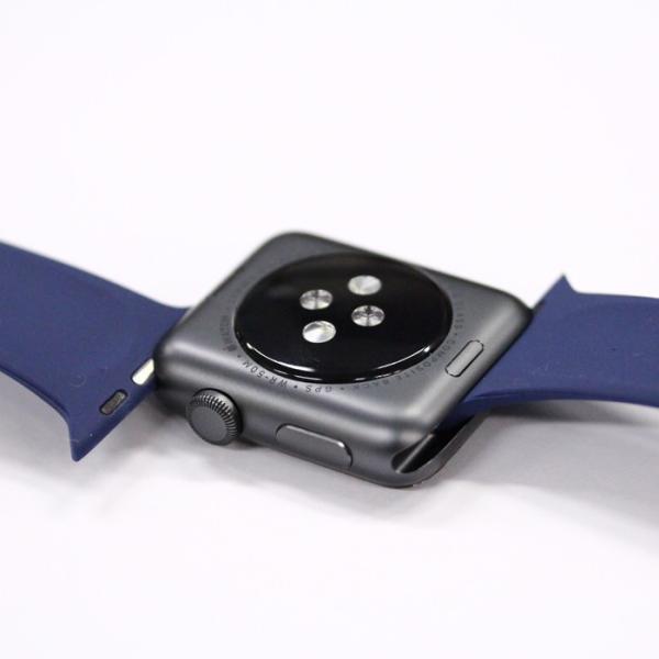 アップルウォッチ Apple watch シリーズ 1 2 3 4 38mm 40mm 42mm 44mm バンド シリコン スポーツバンド 腕時計 汎用モデル|brain-products|08